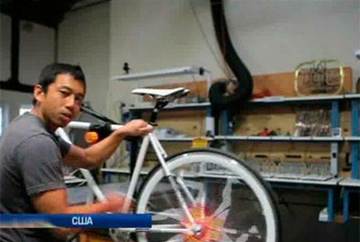 Дизайнеры разработали видеоподсветку для велосипедов