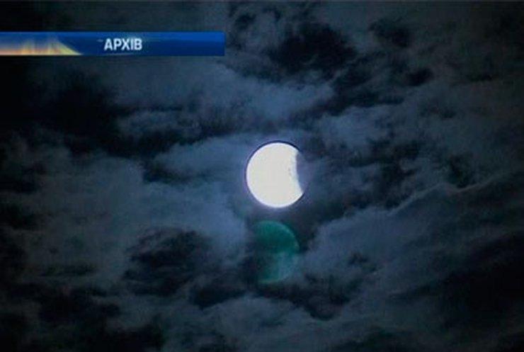 Сегодня ночью можно будет увидеть лунное затмение