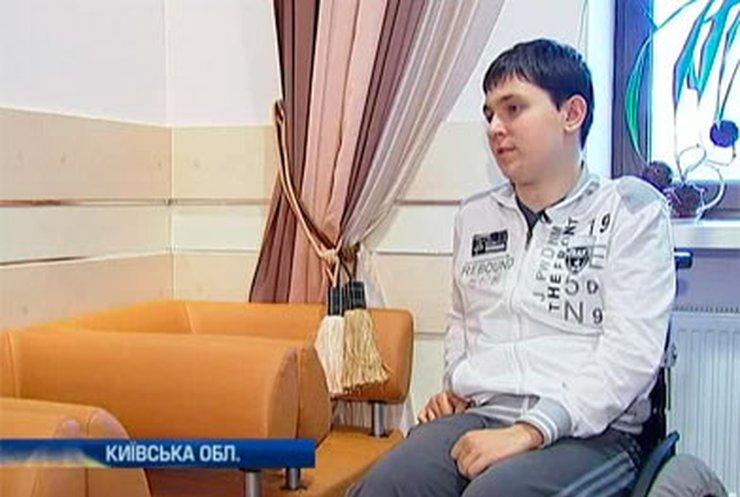 Александру Волощуку нужна помощь, чтобы вылечить тяжелую травму позвоночника