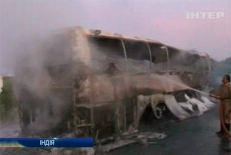 В Индии в аварии автобуса погибли 44 человека