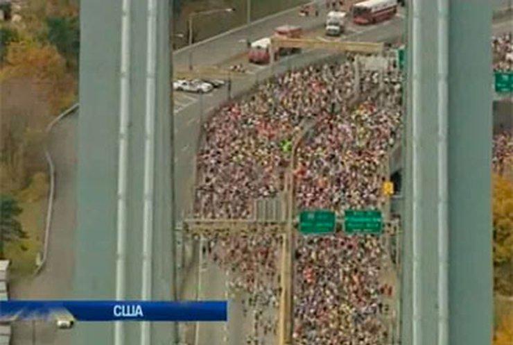 В Нью-Йорке прошел марафонский забег