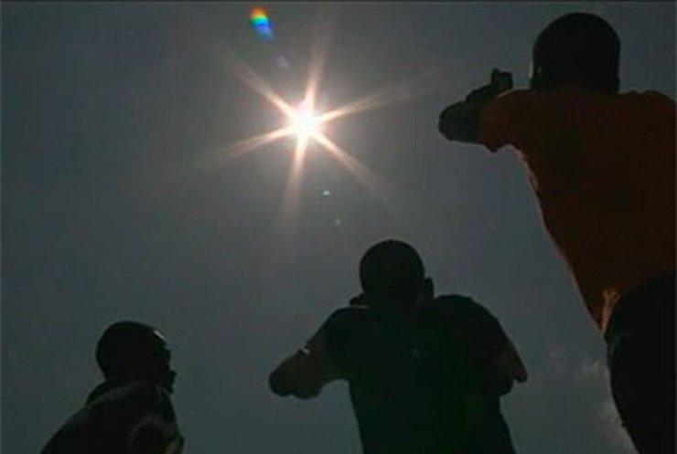Жители Африки увидели уникальное солнечное затмение