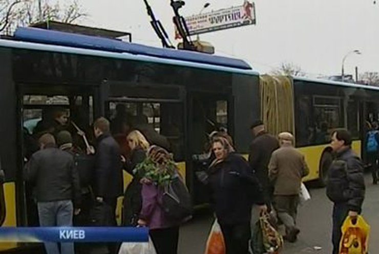 В Киеве подорожает проезд в городском транспорте