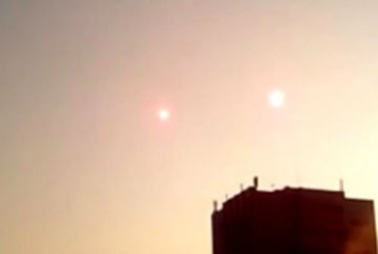 В небе над Крымом видели НЛО