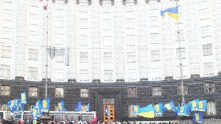 Азаров потребовал немедленно прекратить блокирование здания Кабмина ... 77427f81f85c7