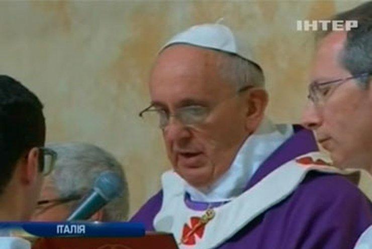 Папа римский в молодости работал вышибалой в ночном клубе