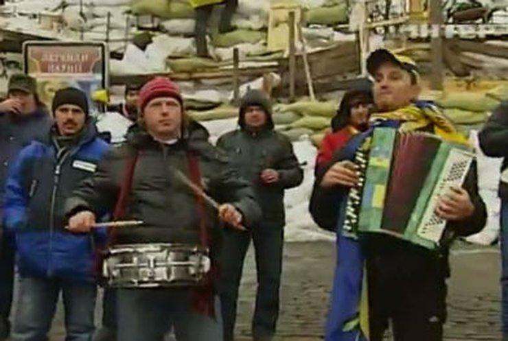 """""""Евромайдан"""" породил множество новых хитов и мемов"""