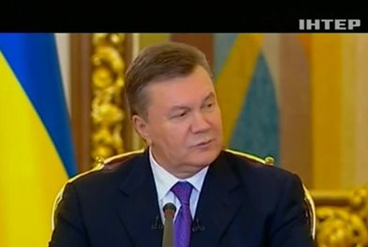 """Янукович рассказал, что думает о """"московских соглашениях"""", Майдане и """"европаузе"""""""