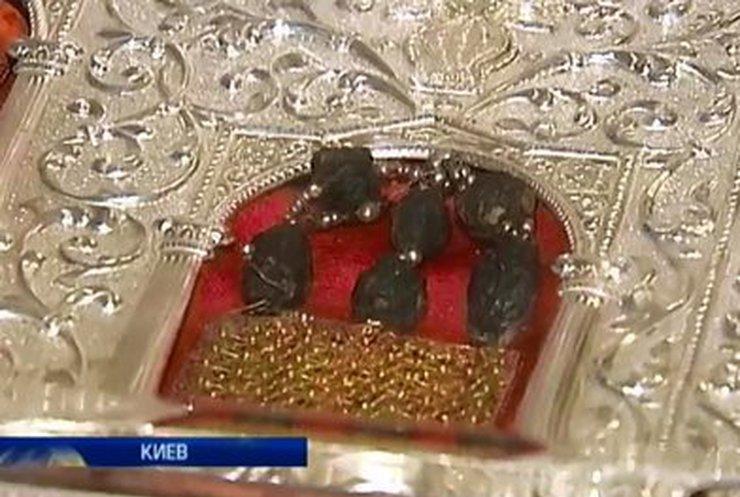 В Киев привезли Дары Волхвов