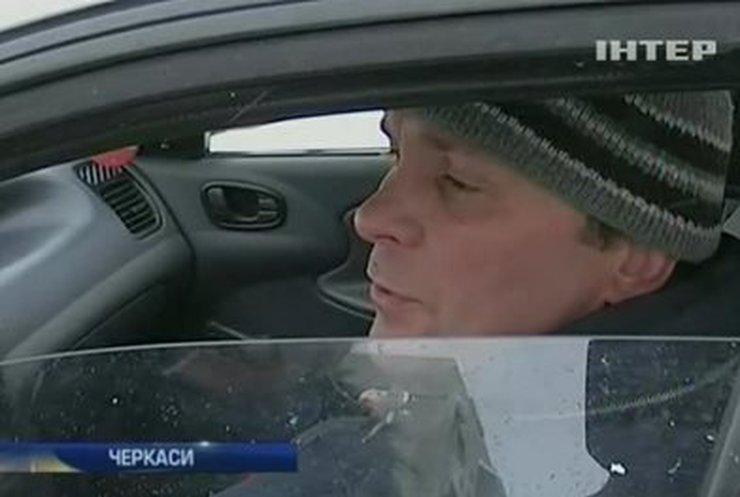 В Черкасской области из-за снегов усложнено движение транспорта