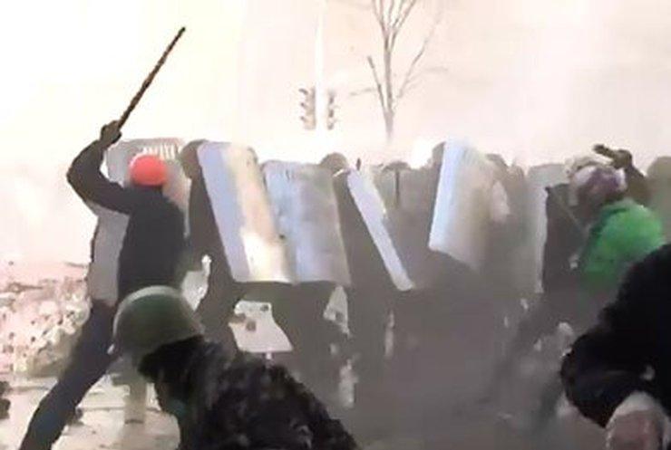 МВД обнародовало видео киевских беспорядков (ВИДЕО)