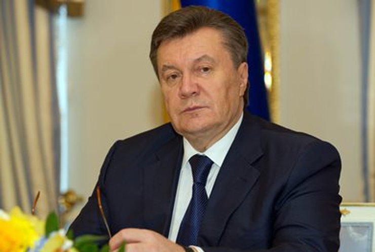 Янукович заявил, что не собирается в отставку (видео)