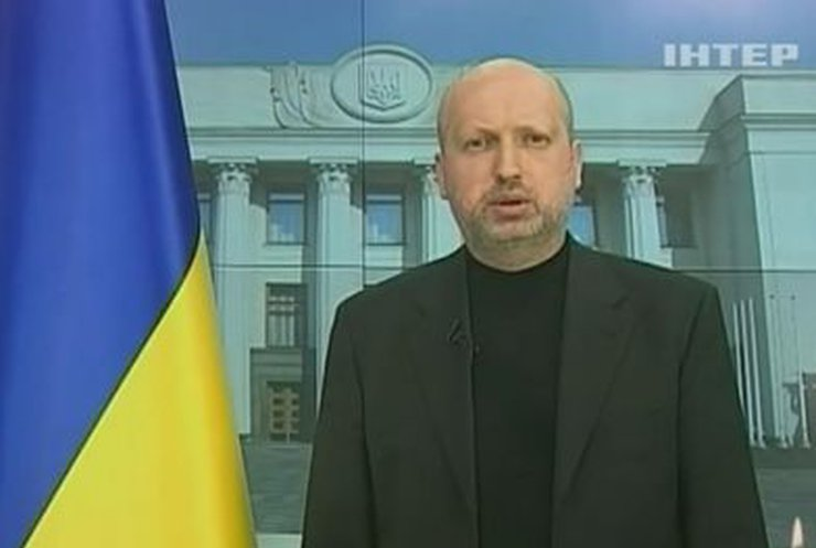 Обращение Турчинова к украинцам
