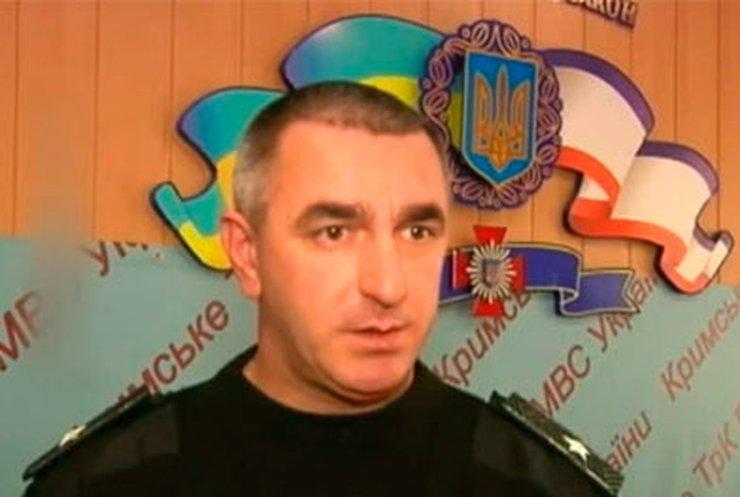 ВВ МВД Крыма заявляют о верности народу Украины