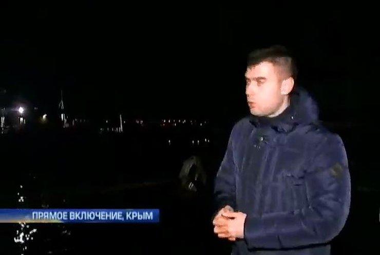Выход украинских кораблей из Стрелецкой бухты перекрыт