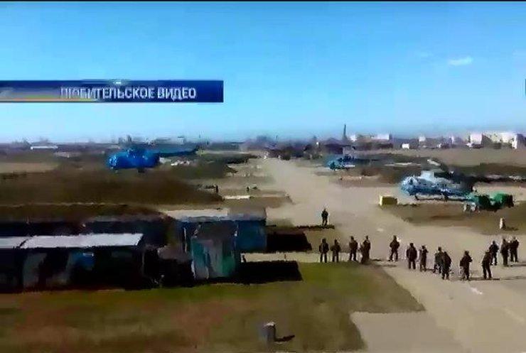 Крымские военные переправили на материк четыре вертолета и три самолета
