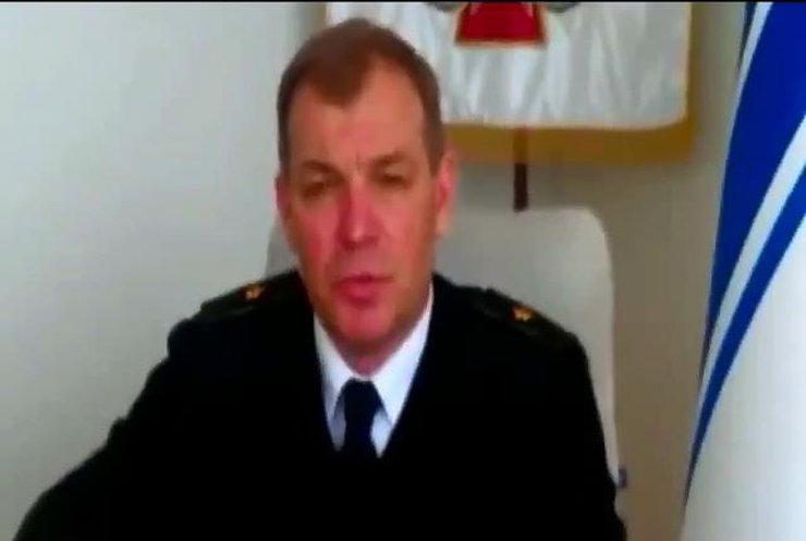 Командующий ВМС обратился к украинским и российским морякам