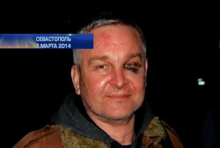 """Журналисты """"Интера"""" считают, что на них в Крыму открылась охота"""
