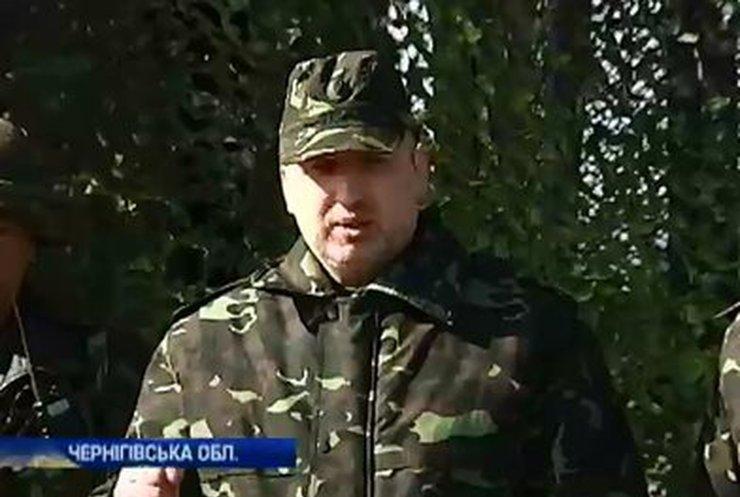Турчинов подписал закон о создании Национальной гвардии Украины