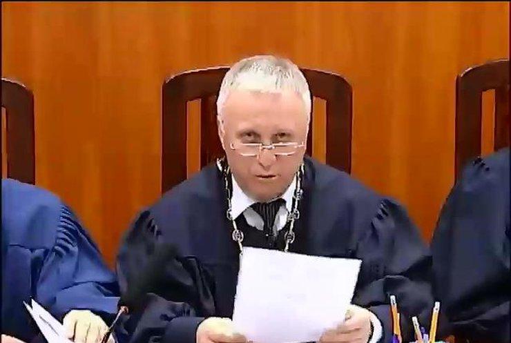 ВАСУ отказался рассматривать дело о назначении Турчинова и.о. президента