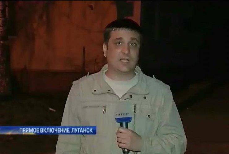 Луганское МВД подтверждает присутствие БТРов в городе