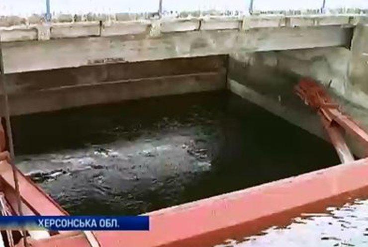 Власти Крыма не хотят платить за воду из Украины (видео)