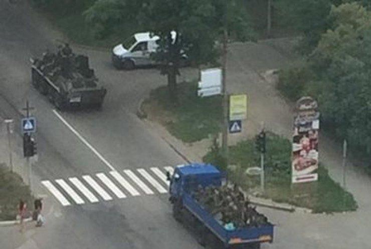 В Донецке военные уничтожили несколько огневых точек террористов (онлайн, фото, видео)