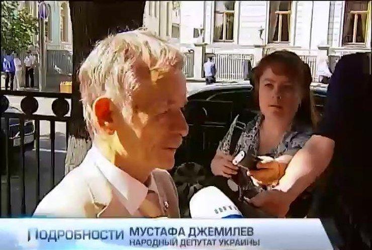 Мустафа Джемилев надеется, что Петр Порошенко вернет Крым Украине
