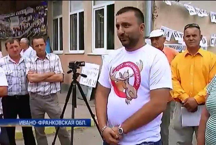 В Ивано-Франковской области протестуют против судьи Марии Крилюк