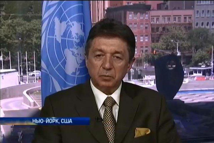 Юрий Сергеев: То, что террористы - граждане России, не вызывает сомнения в ООН