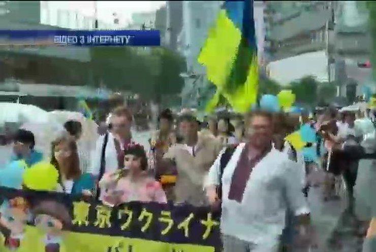 У Токіо відбувся парад українських вишиванок (відео)