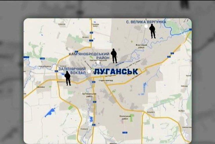 В Луганську проходять бої із застосуванням важкої бронетехніки