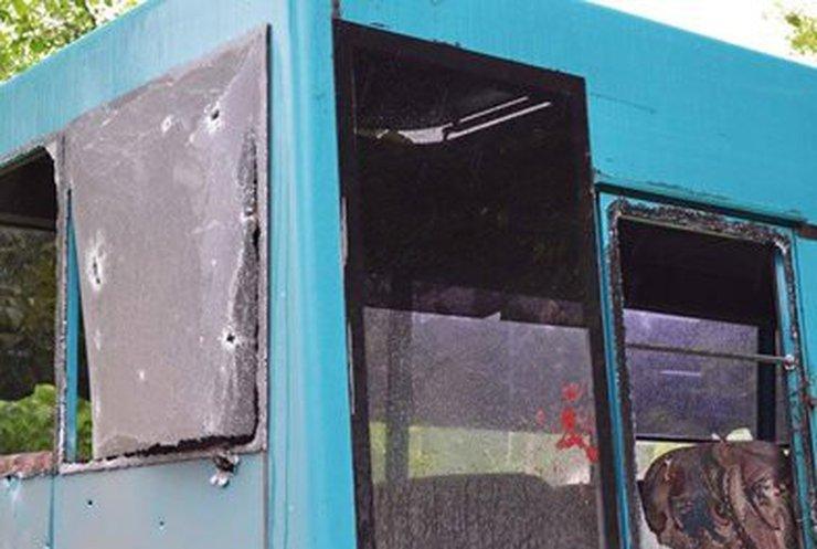 Убивший 2 человек в маршрутке Луганска снаряд принадлежал террористам