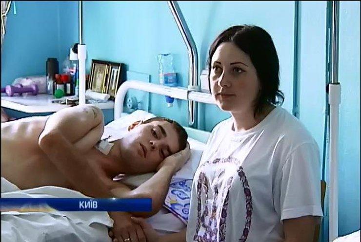 Двом українським десантникам потрібно лікування за кордоном