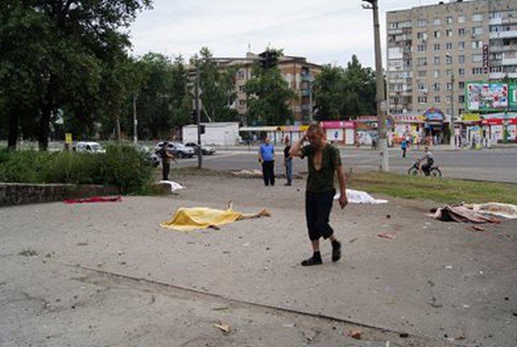 На улицах Луганска террористы стреляли по всем без разбора: 20 убитых (обновлено, фото, видео)