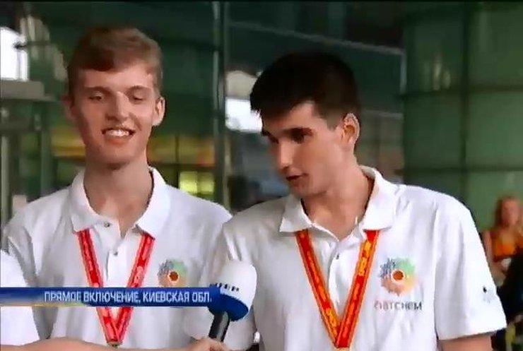 Украинцы привезли 2 золотые и 2 серебряные медали с международной олимпиады по химии
