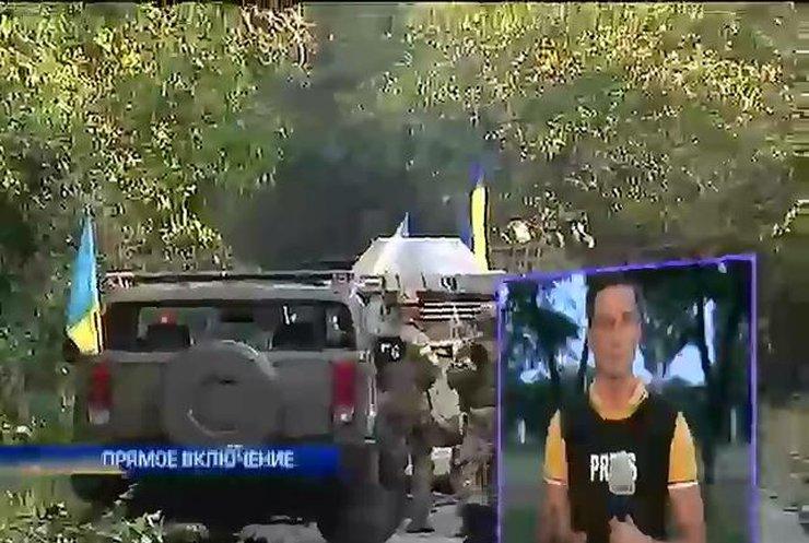 """Батальон """"Донбасс"""" отбил у террористов 2 инкассаторских авто (видео)"""