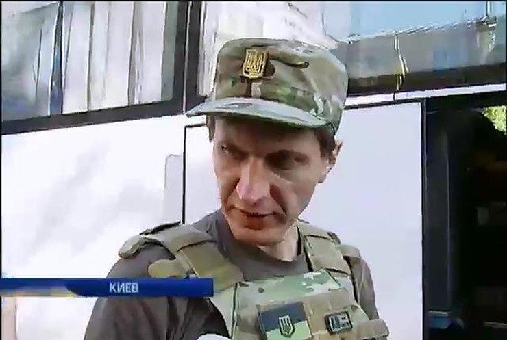 Добровольцами на Донбасс едут даже девушки (видео)