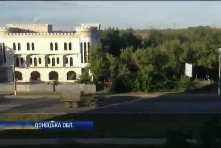 Українські військові зафіксували велику колону техніки з боку Росії