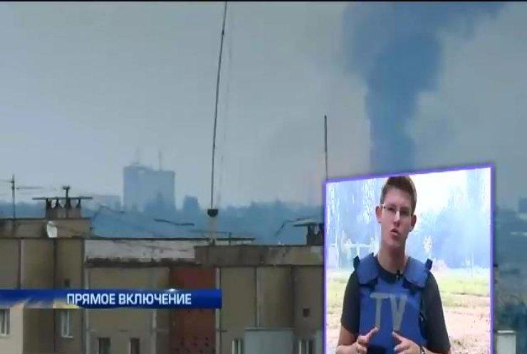 В Донецке террористы минируют дороги и стреляют по мирным жителям (видео)