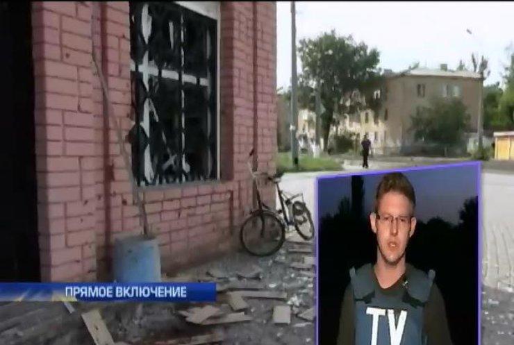 В Макеевке люди пытаются сами выгонять террористов из жилых районов (видео)