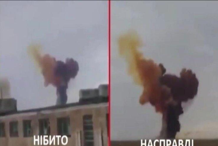 """Телеканал """"Звезда"""" зняв антиукраїнську пропаганду з кадрами катастрофи на Байконурі"""