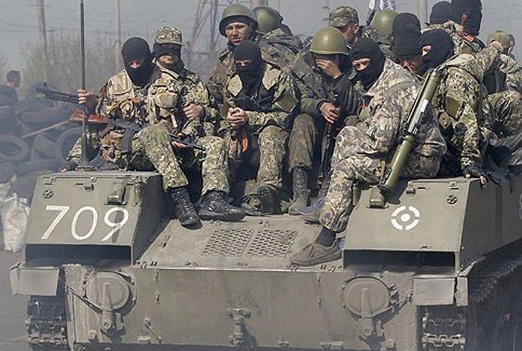 В колонне террористов на Донбассе замечен брат Кадырова Салман