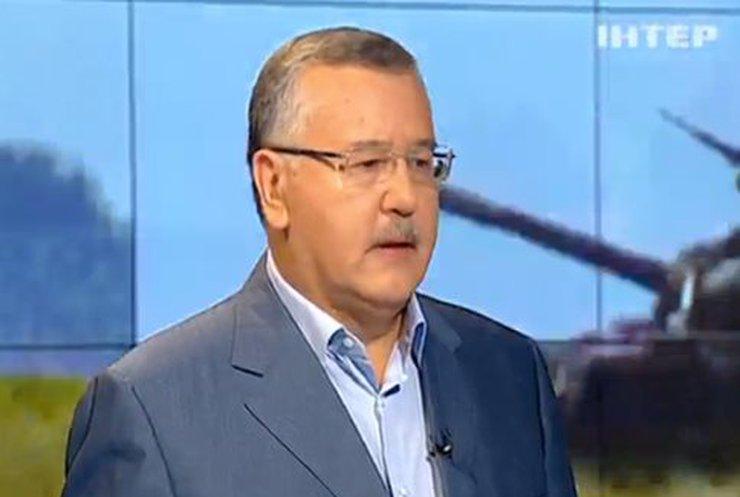 Анатолий Гриценко: Цель Путина соединить юг Украины с Крымом