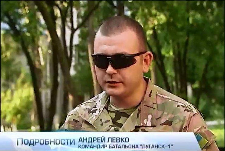 """Комбат """"Луганска-1"""" просит тяжелого вооружения для боя с десантниками из Пскова (видео)"""