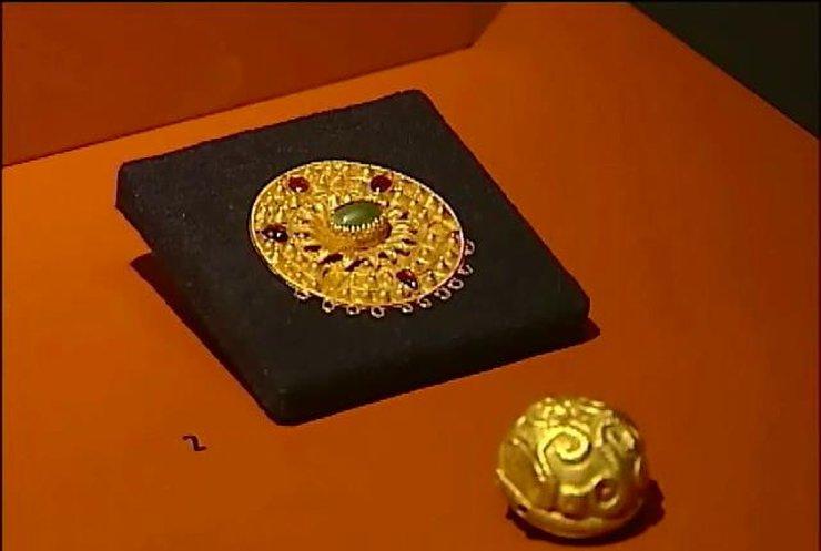 Киеву вернули скифское золото из Амсердама (видео)