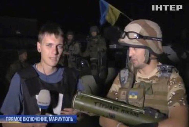 Под Широкино концентрируются российские войска (видео)
