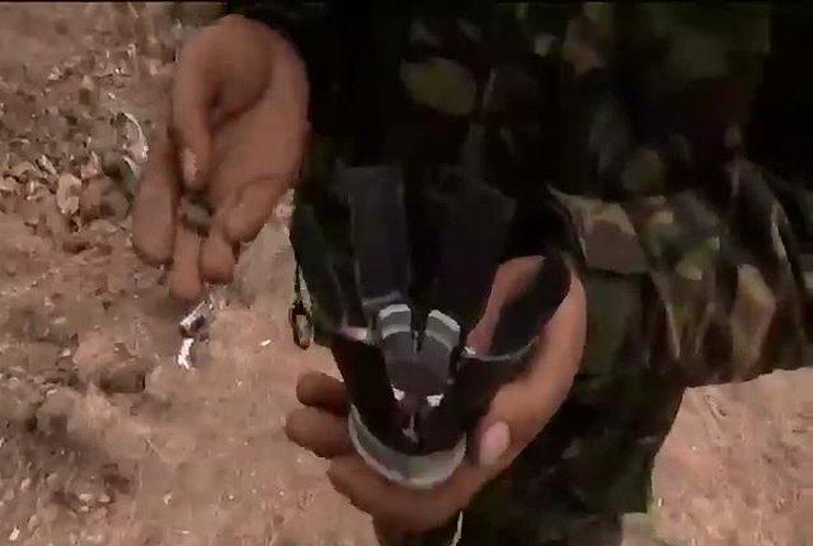 Российская армия обстреливает Дебальцево кассетными снарядами