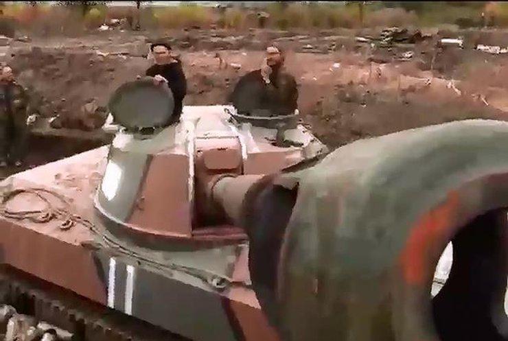 Под Дебальцево уничтожили подразделение морской пехоты России (видео)