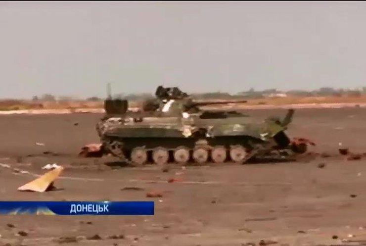 Терористи намагаються захопити злітну смугу та диспетчерську вежу аеропорту в Донецьку